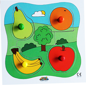 JJ505 - Big 4 Piece Peg Board